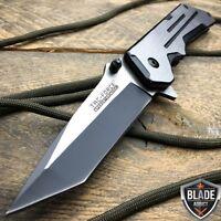 "8"" TAC-FORCE Spring Assisted TACTICAL TANTO Folding Blade Open Pocket Knife NEW"