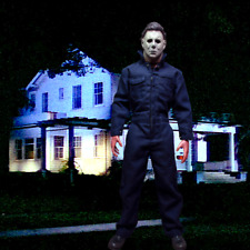 """1/6 Michael Myers Backdrop 15""""x15""""- Ideal for1/6 Michael Myers Halloween"""