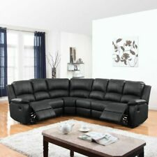 Casa Andrea Milano REC04-BLK Transitional Sectional Sofas