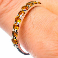 Citrine 925 Sterling Silver Ring Size 11 Ana Co Jewelry R26622F