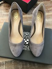 Vince Camuto Shoes  Stone Taupe True Suede Size 5.5 NEW
