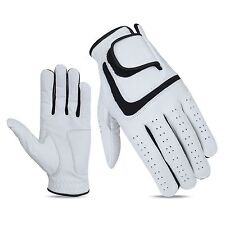 JL Golf 100% cabretta leather glove Size MEDIUM LARGE Mens Excellent grip