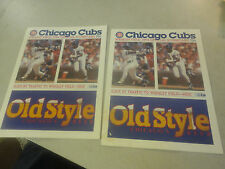 2 - 4/7/1994 ChgoCubs vs Chgo. White Sox Michael Jordan Played Unused Scorecard