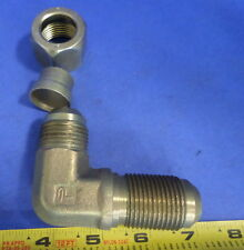 "PARKER 90 ELBOW 3/4"" LONG NOSE JIC 37 X 3/4"" SHORT JIC"