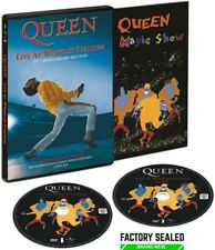 Queen ‎– Live At Wembley Stadium 25th Anniversary 2 x DVD Set REGION FREE NEW