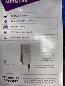 Netgear Powerline 500mps 1 Port Ethernet Extender (XAV5201)Starter Kit