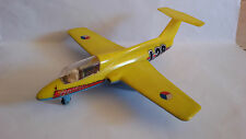 VINTAGE RARE PLASTIC CZECHOSLOVAKIA FRICTION  AIRPLANE AIRCRAFT TOY DELFIN L 29