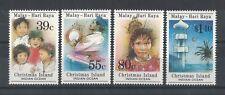1989 Christmas Island Hari Raya SG 271/4 muh set 4