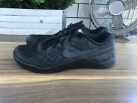 Nike Metcon 3 Black Low Top Breathable Training Shoes Crossfit Men's Size 11
