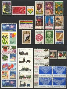 1987 U.S. COMMEMORATIVE YEAR SET *40 STAMPS* MINT-NH