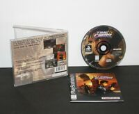 Time Crisis (Playstation 1 PS1 PSOne) CIB Complete *Black Label* Tested