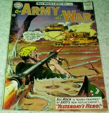 Our Army at War 133, VF (8.0) 1963, 40% off Guide!