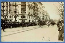 FRENCH MILITARY PARADE - WW 1 - Real Photo Postcard - Unposted