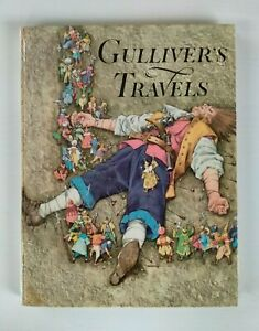 Gulliver's Travels by Jonathan Swift  (Hardcover, 1961) Vintage