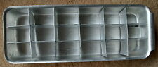Vintage Soviet Russian aluminum form for ice from the fridge c.1980s USSR