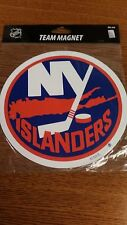 NHL NEW YORK ISLANDERS MAGNET NEW IN PACKAGE CAR MAGNET NICE !