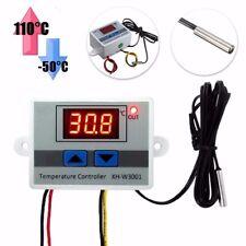 Digitale LED Temperatura Controllore Termostato + Sonda - 50°C ~ 110°C 220V 10A