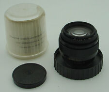 Jupiter-9 2/85mm LZOS BLACK lens with M42 SLR Zenit screw mount IN BOX EXC.