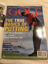 Golf Magazine Tiger Woods  November 1999