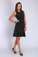 Womens Dress Sleeveless Tiered Cocktail Dress Boat Neck Size 8 10 12 14 FA405