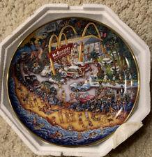 """Franklin Mint McDonalds """"Golden Summer"""" by Bill Bell, Collector Plate, Nip"""
