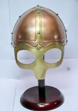 Medieval Knight Viking Helmet Armor Winged Norman Fully Wearable costumes