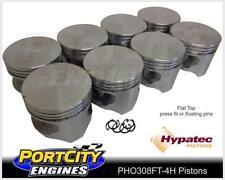Hypatec Flat Top Piston set for Holden V8 308 Red Blue Black 5.0L PHO308FT80304H