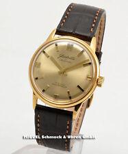 Runde mechanische - (Handaufzugs) Glashütte Original Armbanduhren