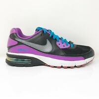 Nike Womens Air Max Captivate 558627-015 Black Purple Running Shoes Size 9