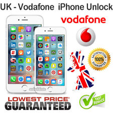 Vodafone UK UNLOCK CODE SERVICE for iPhone X / XS / XR / XS Max & 8 7 6S 6 Plus
