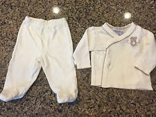 Baby Cotton Cutie Pie Bear Outfit Set 0-3 Month Soft Thick Easy to Put On!