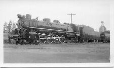 T505 RP 1937 BANGOR & AROOSTOOK RAILROAD ENGINE #108 BANGOR MAINE