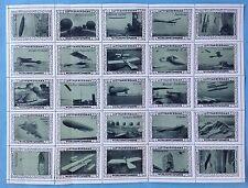 25x Luftfahrt Vignette Luftfahrerdank Wohlfahrtsmarke Flugzeug Zeppelin 1.WK~15