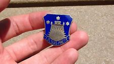 WW2 US ARMY MILITARY 142nd Engineer DI DUI CREST PIN INSIGNIA