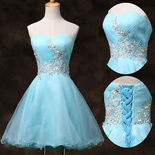 Teen Prom Short Formal Homecoming Ball Gown EVENING Cocktail Party Wedding Dress