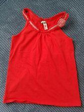monsoon red summer top tshirt girl 10-12 years