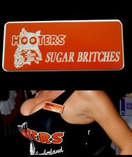Hooters Girl Uniform Sugar Britches Name Tag Badge Accessory