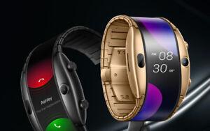 "Brand New ZTE Nubia Alpha 4"" Flexible CurvedScreen Wrist Mobile Smartphone Watch"