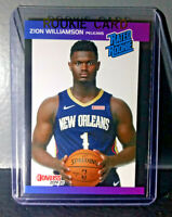 Zion Williamson 2019-20 Panini NBA Instant Rated Rookie Retro Card