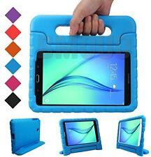 Kid Case Handle Samsung Galaxy Tab A 8 in Tablet EVA Shock Proof Light Blue New