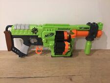 Nerf doominator blaster gun used outdoor toy with darts