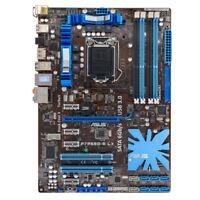 For ASUS LGA 1156 Intel P55 DDR3 USB3.0 P7P55D-E LX Desktop Motherboard