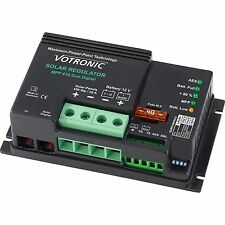 Ad alta efficienza 430w 12v dual BATTERIA carica solare MPPT Controller/Regolatore