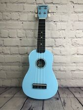 Diamond Head DU-106 Rainbow Soprano Ukulele in Light Blue