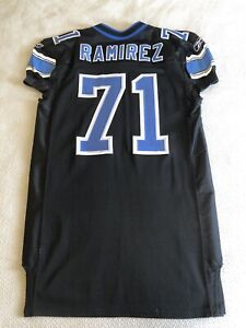 Detroit Lions Manny Ramirez Game Team Issued Jersey