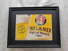 PAULANER ORIGINAL MUNICH LAGER BEER SIGN  #1277