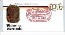 20 C. USA a/ Brief Cover Philatelica Germania MILWAUKEE