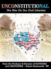UNCONSTITUTIONAL THE WAR ON OUR CIVIL LIBERTIES DVD MOVIE DOCUMENTARY FREE SHIP