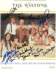 THE WALTONS CAST SIGNED AUTOGRAPHED 8x10 RP PHOTO BY 10 RALPH WAITE CORBY THOMAS