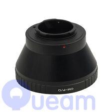 Olympus OM Lens per Pentax Q Mount PQ/fotocamera Q P Anello Adattatore per Q10 Q7
